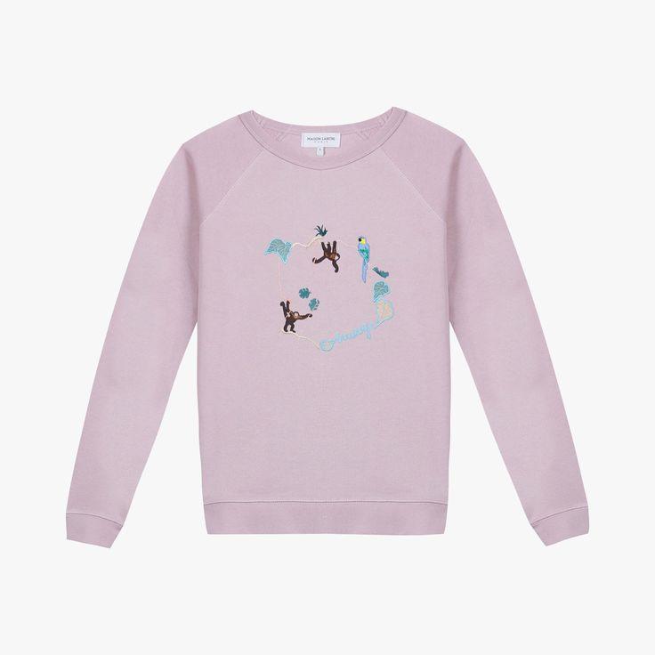 Sweatshirt Jungle - MAISON LABICHE - Find this product on Bon Marché website - Le Bon Marché Rive Gauche