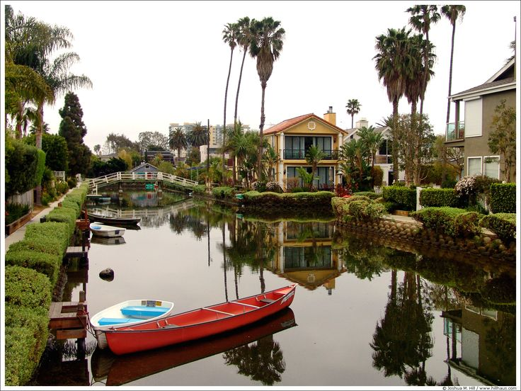 A gorgeous shot of the Venice Canals!  Photo by Joshua M Hill (www.hillhaus.com).   *   Acorn Properties exclusively manages Single Family Homes throughout the greater Los Angeles area. Visit us at www.acornproperties.net.