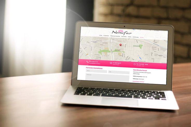 Strona internetowa - Salon Nenufar