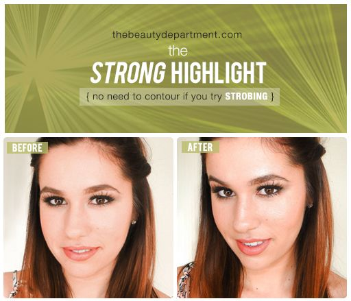 Strobing!  One of my favorite make up tricks for years    This is a great tutorial for those that haven't tried it yet!