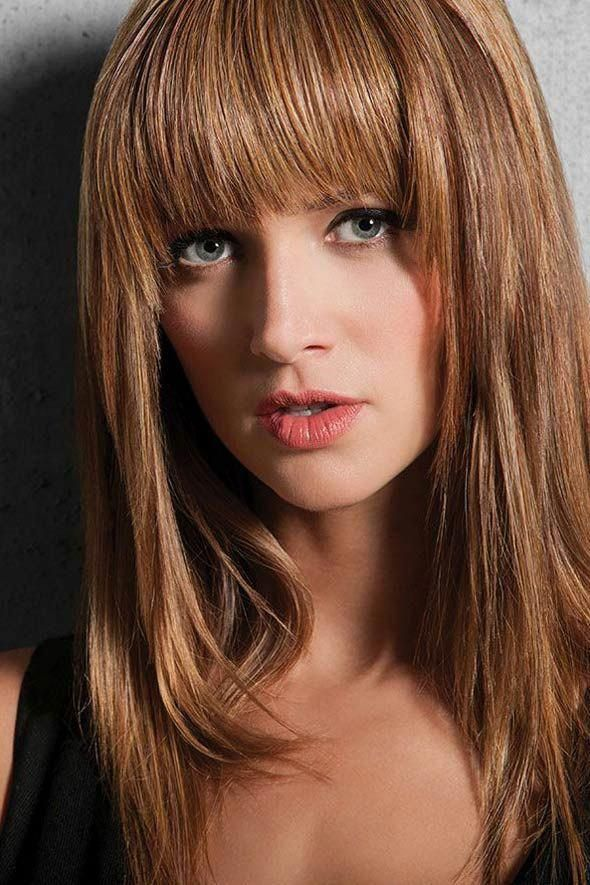 Modern Fringe Clip In Bangs By Hairdo Wigs In 2020 Choppy Bob Hairstyles Hairdo Ombre Hair Color