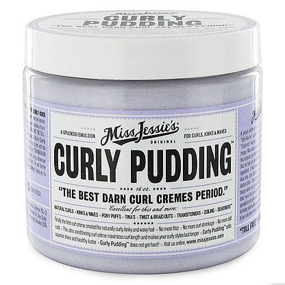 Beauty products for curly hair