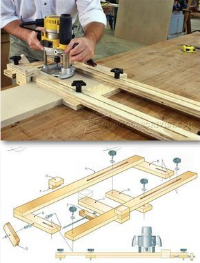how to cut a dado with a router table