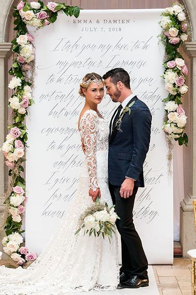 50 of our favorite wedding ideas spotted in 2017 dream wedding ideas pinterest backdrops wedding and weddings