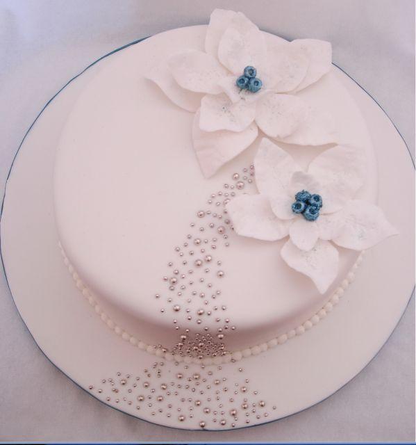 Image result for white christmas cake