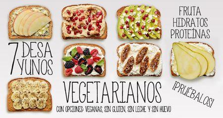 Siete desayunos saludables para toda la semana - Ecoportal.net