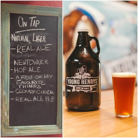 Young Henrys is a local craft brewery based in the Sydney suburb of Newtown