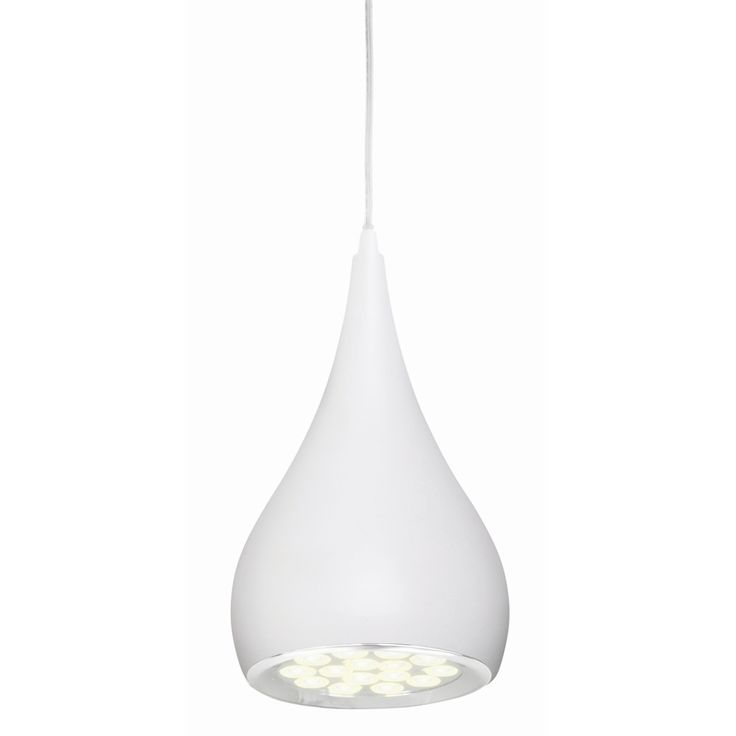 Brilliant White Clyde LED Pendant Light