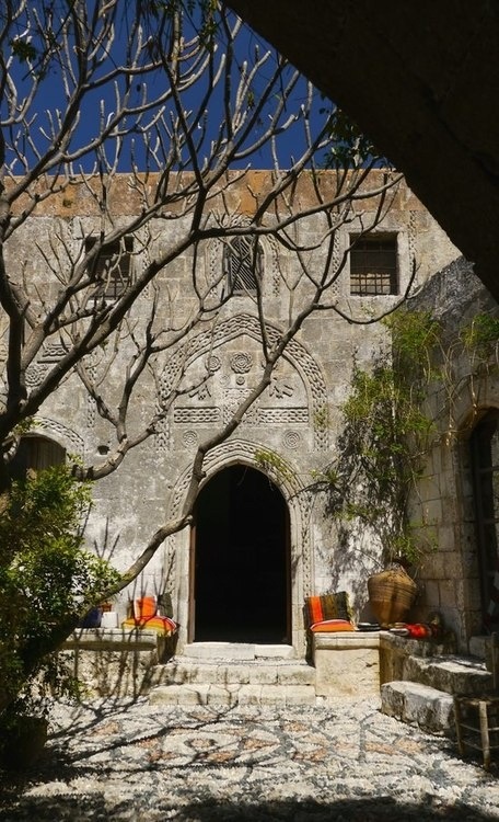 Medieval mansion in Lindos, Rhodes