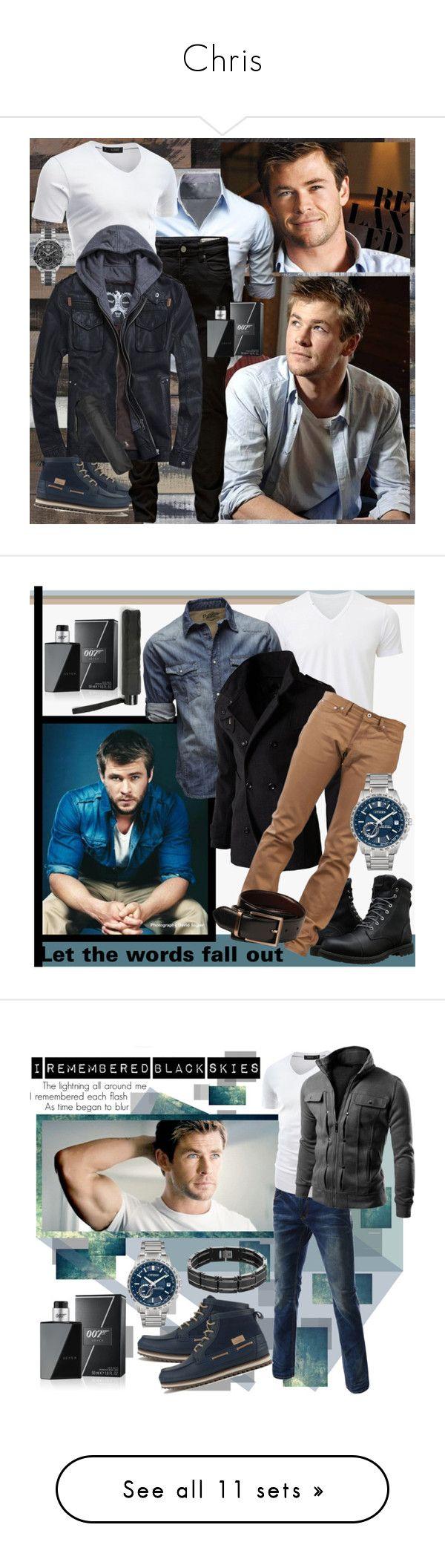 """Chris"" by julyralewis ❤ liked on Polyvore featuring Lacoste, Jack & Jones, Doublju, TAG Heuer, MANGO, James Bond 007, men's fashion, menswear, Timberland and Uniqlo"