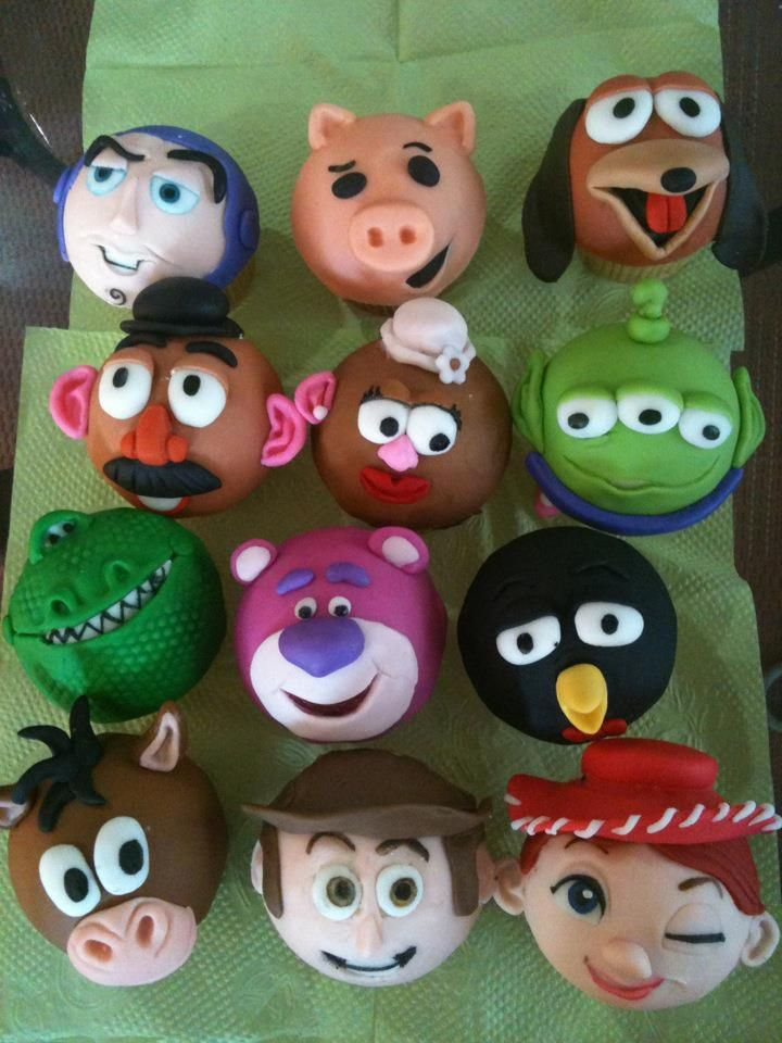 toy story cupcakes                                                                                                                                                      Más