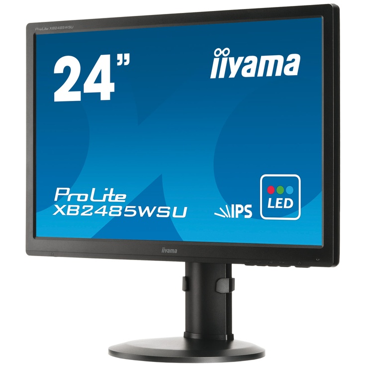 1920 x 1200 pixels - 5 ms - Format large 16/10 - Dalle IPS - DisplayPort - Pivot - Hub USB - Noir