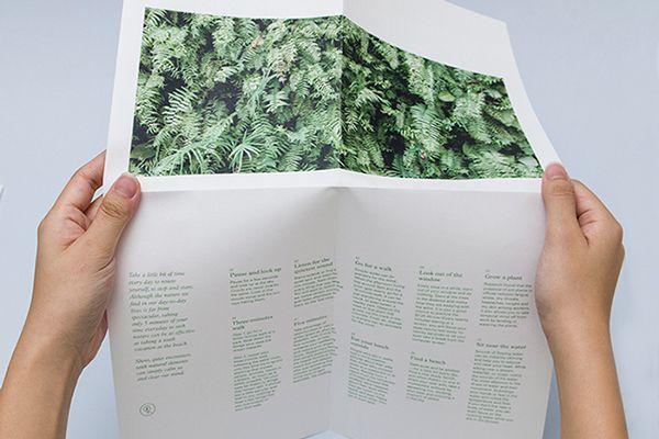 TAKE A GREEN BREAK: Flyer on Behance