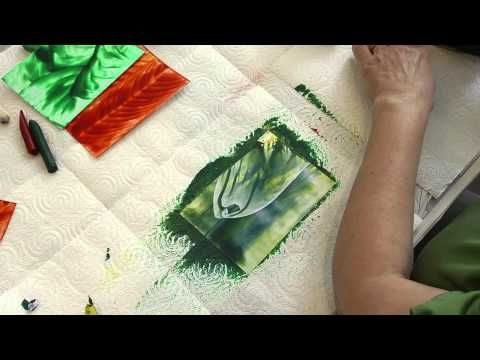 Encaustic -- Workshop, Folge 1/6: Grundtechniken ... mit Ulrike Kröll - YouTube