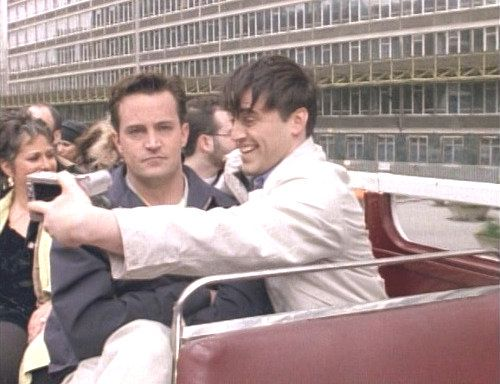 Sometimes I'm Joey, but mostly I'm Chandler.