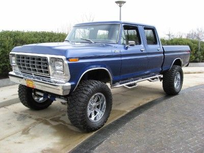 1978 Ford Show Truck Crew Cab 4X4. Ultimate family truck | VROOM ...