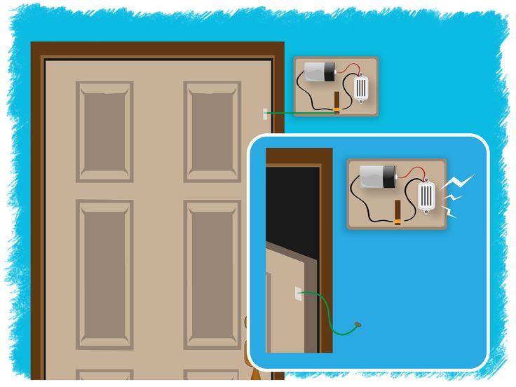Best 25 door alarms ideas on pinterest security locks for Home door security devices
