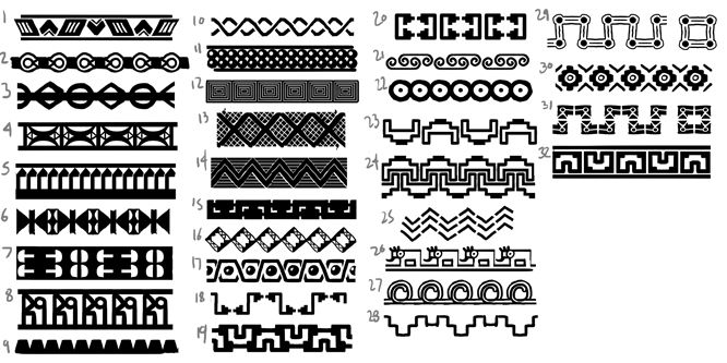 mayan pattern designs wwwimgkidcom the image kid has it