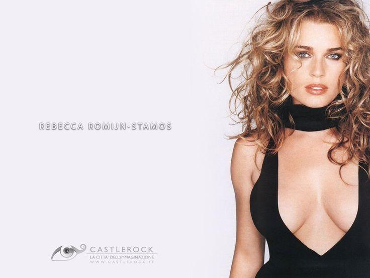 The Genteel perfection of Rebecca Romijn ...Sumptuous silhouette of my dreams...