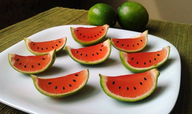Watermelon Jelly Cake Recipe: 1000+ Ideas About Watermelon Jello On Pinterest