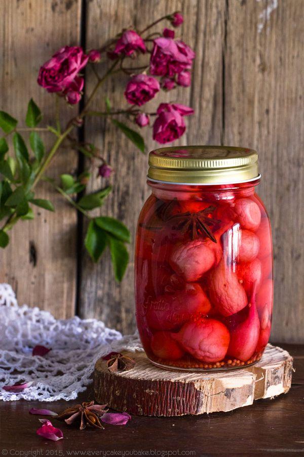 marynowane rzodkiewki, quick pickled radishes #rzodkiewka #radish