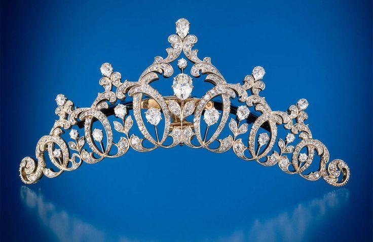 Elisabeta-Maria's Diamond Tiara; Worn At: 2016 Vienna Opera Ball --- 2016 Italian National Day State Banquet --- 2016  Romanian National Day State Banquet --- 2016 Greek National Day State Banquet --- Coronation of Margarita of Romania --- 2016 Yugoslavian National Day State Banquet --- Coronation of King Philip --- 2017 Vienna Opera Ball --- 2017 Romanian National Day State Banquet
