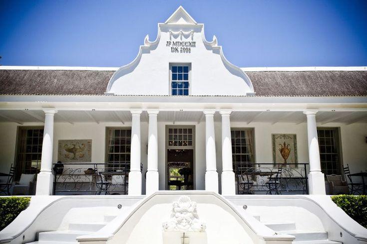 Dutch Colonial/Dutch Cape Architecture - Grand Dédale - Wellington, South Africa