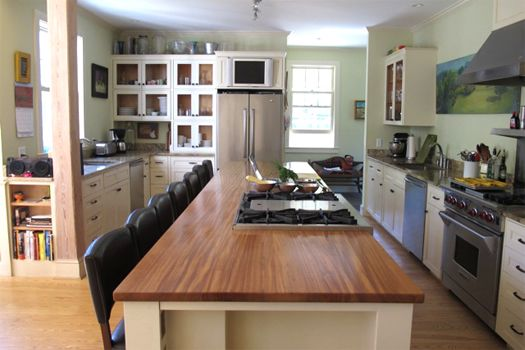 kitchen island for cooking demonstrations - Google Search