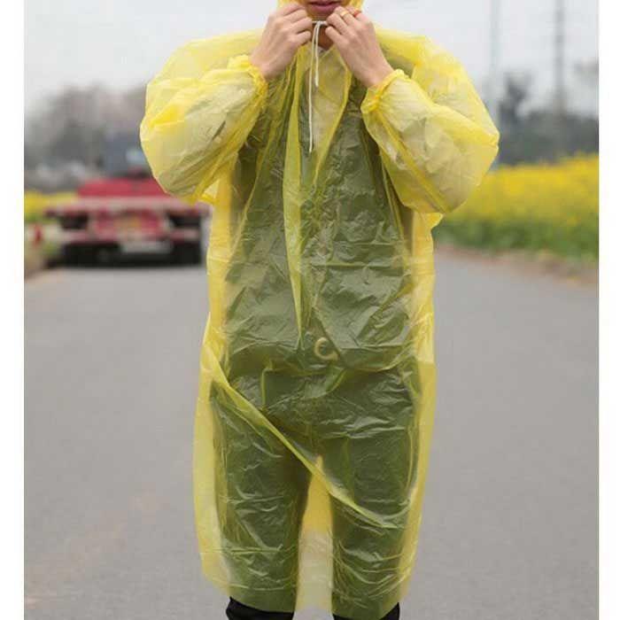Portable Travel Essential Disposable Raincoat