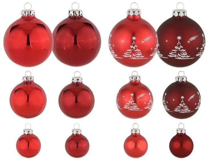 TGS-Weihnachtskugeln rot, »Advent«, THÜRINGER GLASDESIGN Jetzt bestellen unter: https://moebel.ladendirekt.de/weihnachten/weihnachtsdeko/?uid=751c641a-dbf6-5f3d-a882-3a40d70a3615&utm_source=pinterest&utm_medium=pin&utm_campaign=boards #weihnachten #weihnachtsdeko #tgsweihnachtskugeln
