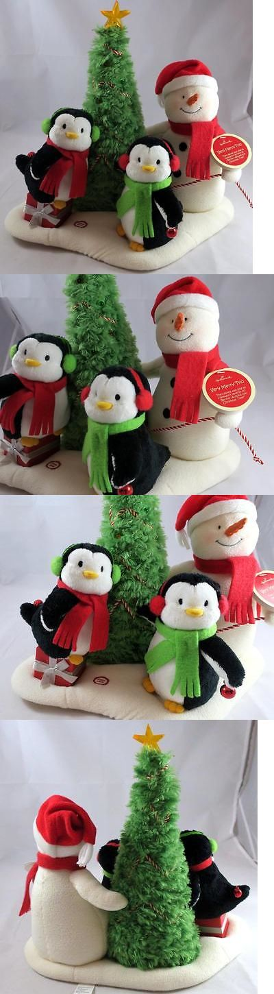 Radios Musical Toys 145943: Hallmark 2006 Very Merry Trio Singing Dancing Animated Plush Snowmen Penguins -> BUY IT NOW ONLY: $33.99 on eBay!