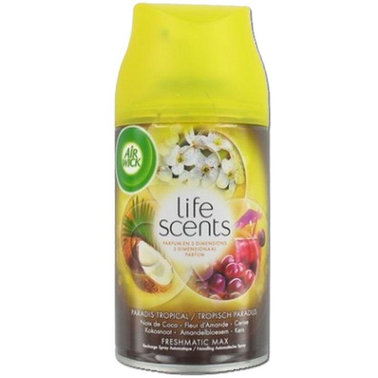 Airwick F Freshmatic Max spray 250ml Life Scents - Tropisch Paradijs 3059943022690