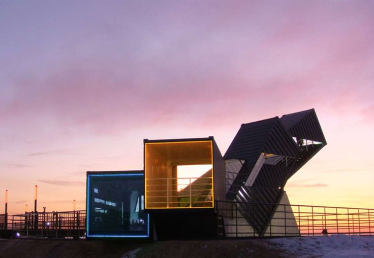 Contain Yourself: 7 of the Best Shipping Crate Structures - Architizer