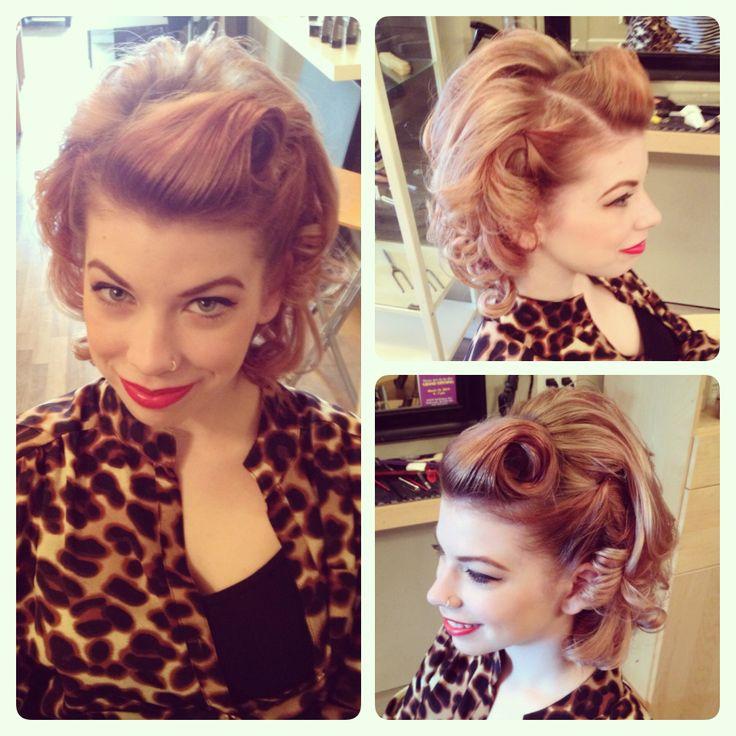 retro hair and makeup by lexi whitewall @ bijou bodysalon