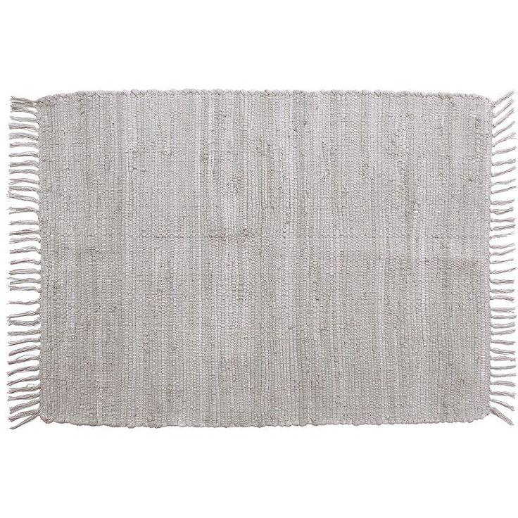 Park B. Smith Chindi Solid Rug, Grey