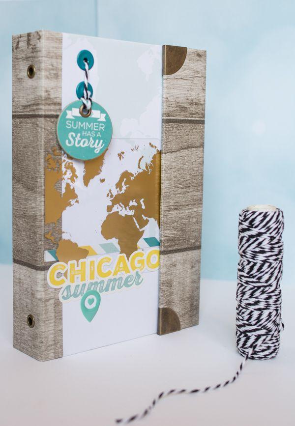 Bonjour ! Je suis super contente de pouvoir aujourd'hui vous proposer (enfin !!!) les kits du mini-album composé avec les papiers et tampons de la collection Carte Postale ! Merci à ma cops Béatrice Garni pour ses magnifiques photos de Chicago qui ont...