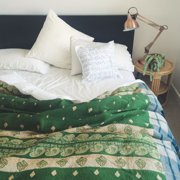 Buy vintage kantha quilts online in Australia  | Bowerhouse
