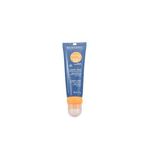 Bioderma PHOTODERM Ski SPF 50+ 20 ml+2 g 0: Bioderma Photoderm Ski SPF 50+ Crème 20 ml + Stick 2 g est une très haute protection solaire…