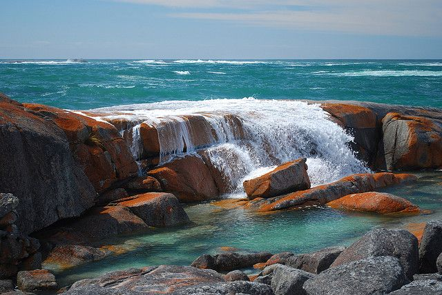 According to National Geographic one of the top 15 classic hikes in the world: Bay of Fires, Tasmania