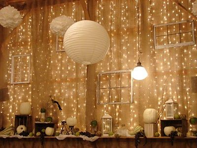 cottage instincts: The wonders of burlap...for a wedding reception!