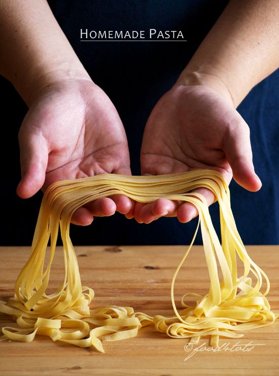homemade pasta, fresh pasta, egg noodles, semolina flour, toddler, Fettutine, Tagliatelle, food 4 tots