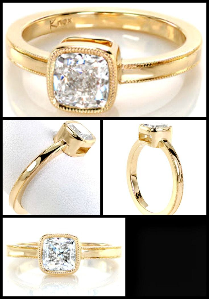 Wedding Rings Minneapolis 59 Best Cushion Cut Engagement Rings Images On Pinterest