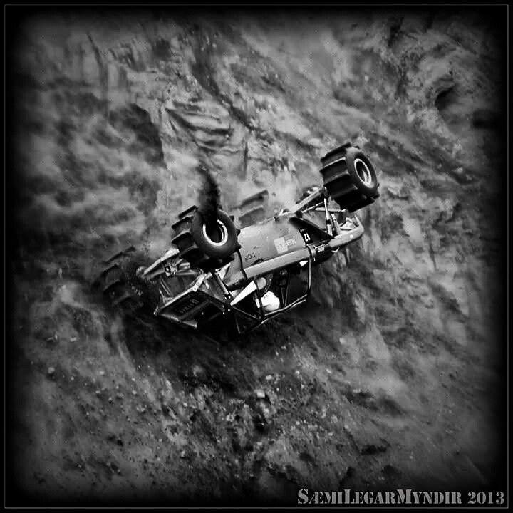 Formula offroad 2013 Katla Turbo Tröll - rollover - torfæra - volcano racing