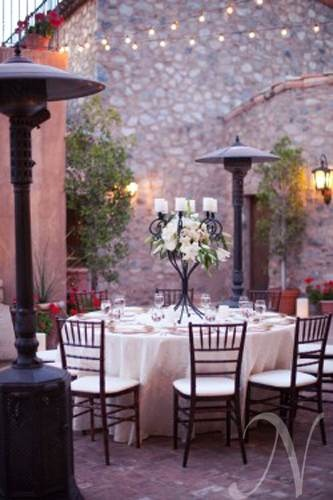 this would be a great urban chic wedding reception