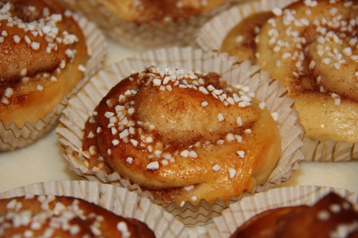 Kanelbulle, I actually made these - surprised myself!