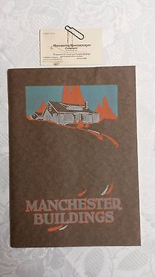 "1926 "" MANCHESTER HOMES CATALOG "" Still in mailing Envelope."