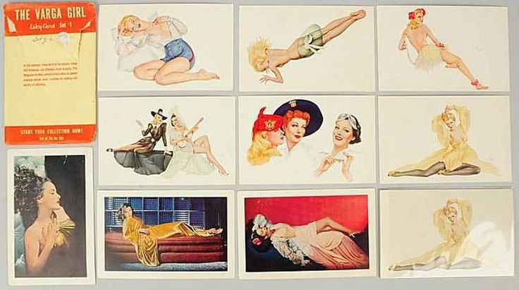 Pin-up Art: Alberto Vargas and His Varga Girls