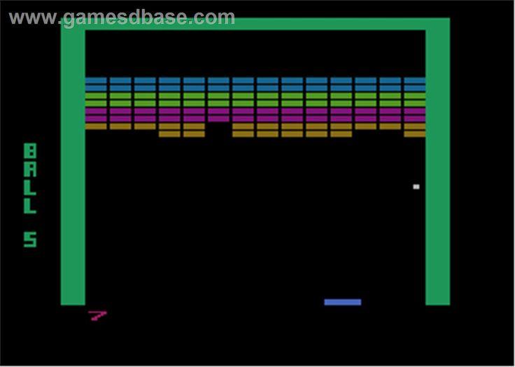 Image detail for -Super Breakout - Atari 8-bit - Games Database