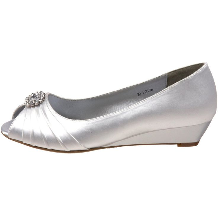 Silver Lexus Christina Wide Fitting Mother of the Bride Shoes