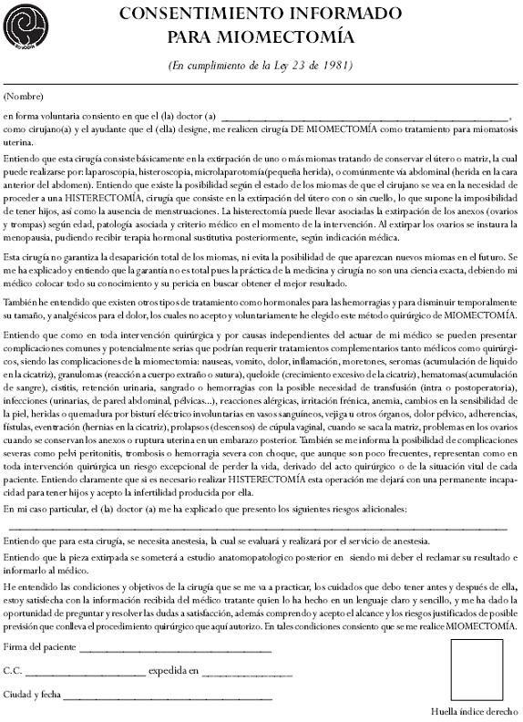 Informed consent formats documento de la computadora Pinterest - hipaa consent forms